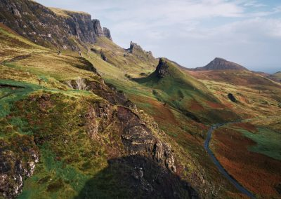 Quiraing road by Iian Cylkowski